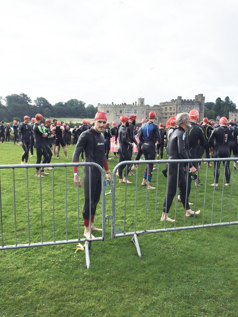 Leeds castle sprint triathlon
